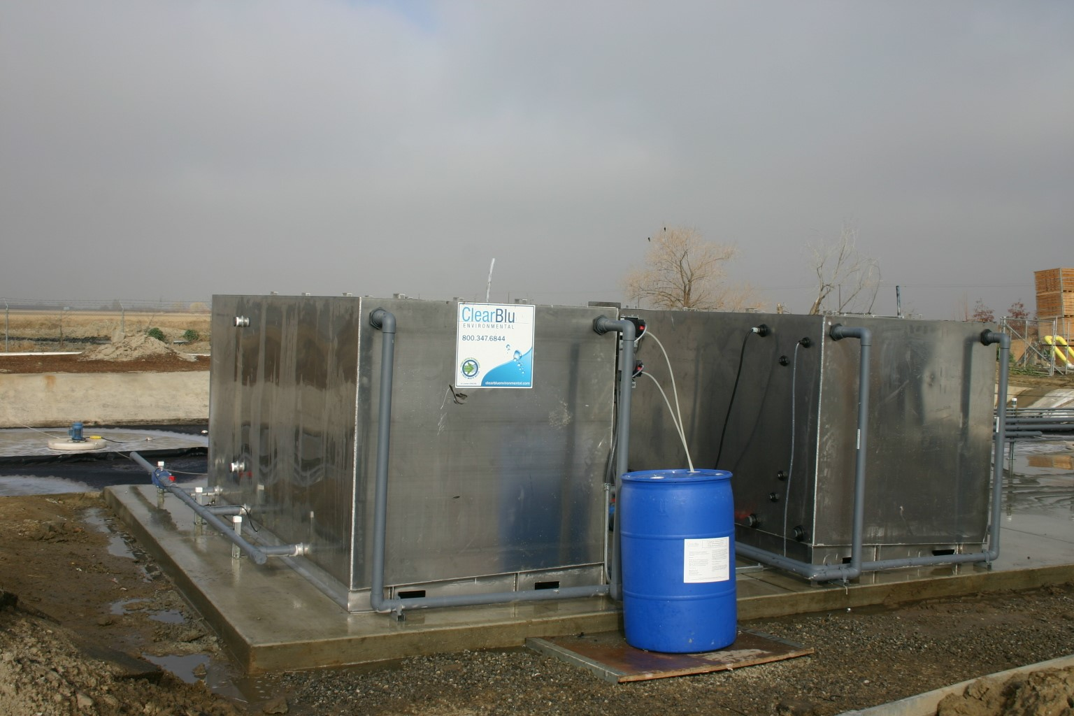 primary treatment of wastewater