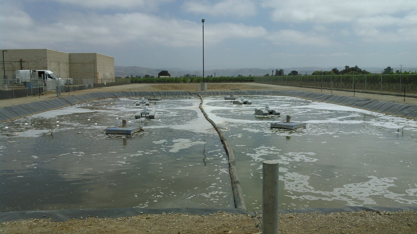 Primary treatment for wastewater systems clearblu for Pond water system