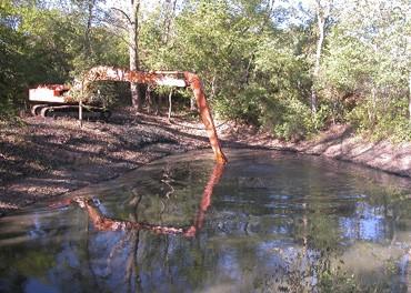 pond sludge treatment