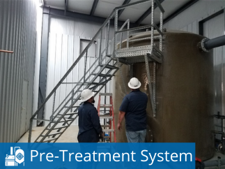 High Capacity Brewery Wastewater Pre-Treatment System